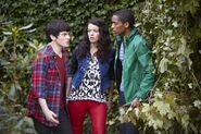 Fabian Patricia and Alfie House of Anubis season 3 - The Reawakening