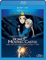 Howls Moving Castle BD DVD Disney