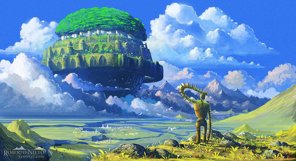 LAPUTA : CASTLE IN THE SKY - STUDIO GHIBLI JAPAN ANIME ( 1 ...