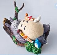 Totoro & Satsuki & Mei figurine