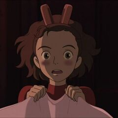 Arrietty Scared