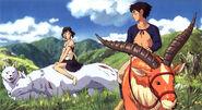 San and Ashitaka Promo