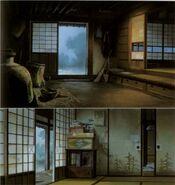 Totoro Kanta's House - Interior