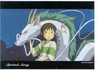 Spirited Away MEMORIAL BOX Postcard 2