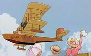 Porco Rosso - Adriano - Plane in flight