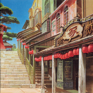 Spirited Away Soundtrack Booklet p. 02