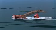 Yakul swimming