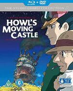 Howls Moving Castle BD DVD StudioCanal