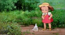 Tonari no Totoro - Sosuke and mini Totoro