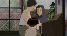 Seita's Aunt with characters