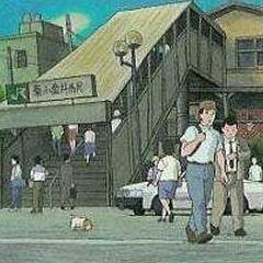 Koro in town