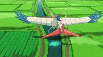 The Wind Rises - Flying Through Town Clip