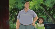 Chihiro and dad