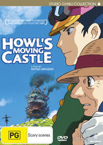 Howls Moving Castle DVD Madman
