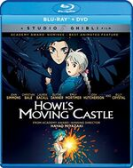 Howls Moving Castle BD DVD GKids