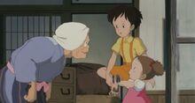 Granny and the Kusakabe girls
