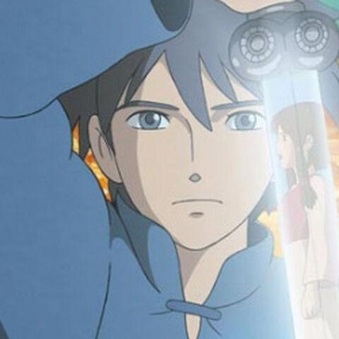 Arren with magic sword