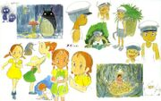 The Art of My Neighbor Totoro - (1)
