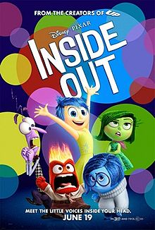 Inside Out (2015 film) poster