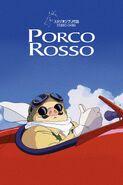Porco Rosso póster inglés
