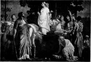 Odysseus And Nausicaä - Project Gutenberg eText 13725
