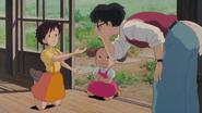 Tatsuo Satsuki y Mei