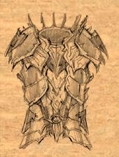 Drow Elven Chain 3 item artwork BG2