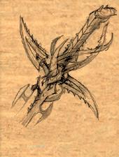 Drow Scimitar 3 item artwork BG2