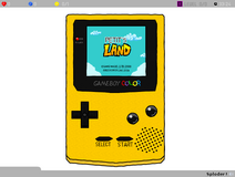 Petit's Land (Game Boy Color Style) Screenie
