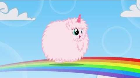 Fluffle Puff Tales Pink.Fluffy.Unicorns.Dancing.On.Rainbows