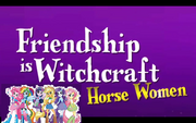 Friendship is witchcraft.