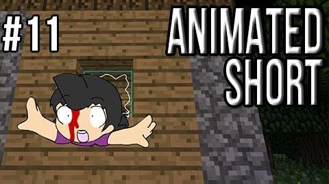Sly's Animated Shorts Ep.11 Minecraft Daily The Camp Bear Nation Attacks!