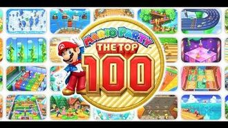 Mario Party The Top 100 (3DS Super Mario Game)