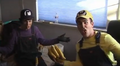 A Monkey for Your Thoughts Wario and Waluigi Screaming.png