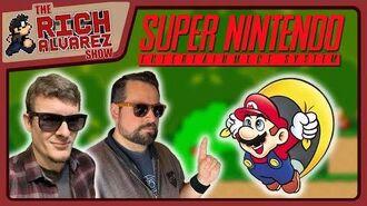 Top 5 Super Nintendo Games - TOP 5 LIVE! - RichAlvarez