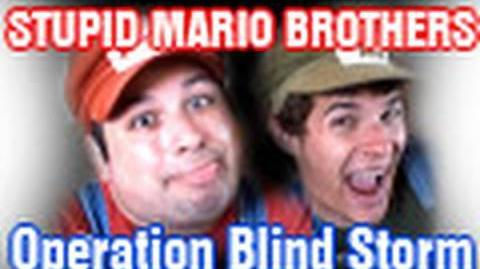 Stupid Mario Brothers Operation Blind Storm