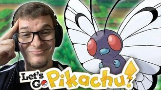 Catching a 1% Spawn Rate Butterfree?! (Pokémon Let's Go Pikachu – Viridian Forrest)