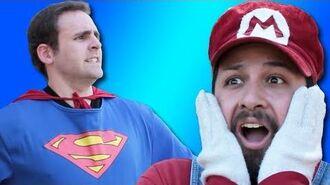 SUPER MARIO vs SUPERMAN - Commentary (Injustice vs Smash Bros.)