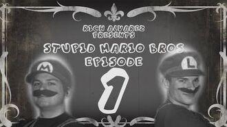 Stupid Mario Brothers Episode 1 - Silent Film