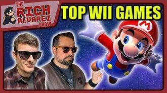 Top 5 Wii Games - TOP 5 LIVE! - RichAlvarez