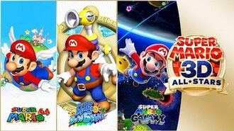 Super Mario Bros. 35th Anniversary and 3D All Stars