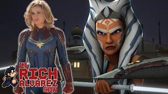Is Brie Larson Playing Ahsoka Tano In a STAR WARS Movie?