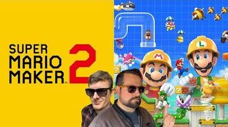 SUPER MARIO MAKER 2 Nintendo Switch Lets Play! Part 3