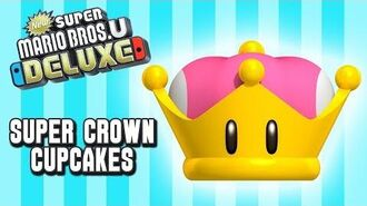 Super Mario Super Crown Cupcakes! - Let's Cook (Mario Bros U Deluxe)