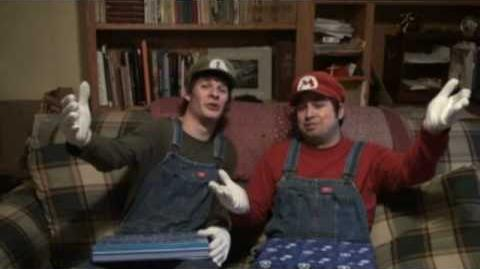 Stupid Mario Brothers Christmas