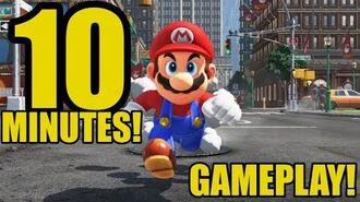 Super Mario Odyssey - 10 Minutes of Gameplay! - E3 2017 (Nintendo)