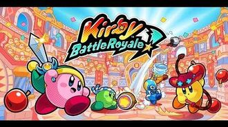 Kirby Battle Royale is out NOW!
