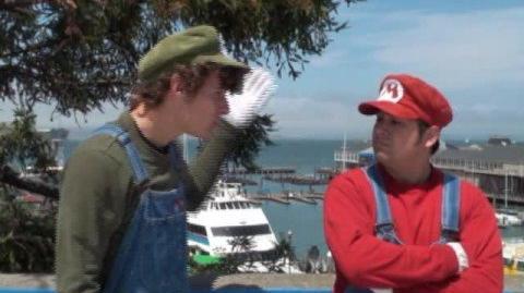 Stupid Mario Brothers San Francisco Adventure