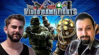 Best Video Game Twist! (Rich VS Garrett) - Video Game Fights! (Re-Upload)