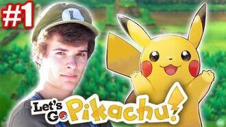 Let's Play Pokémon Let's Go, Pikachu! - Live Stream 1